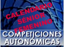 Calendario Sénior Femenino